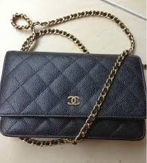 Chanel Classic Quilted WOC Caviar in Black &  Adamdwight.com