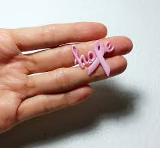 t cancer pink ribbon project hope silicone mold 32mm simply molds