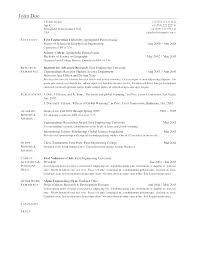 Resume Template – Elsik Blue Cetane