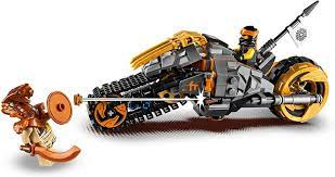 Lego Ninjago 70672 Coles Offroad Bike Construction Kit: Amazon.de: Spielzeug