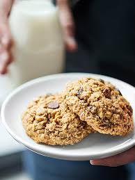 these oatmeal chocolate chip cookies are ultra chewy and naturally gluten free these cookies are brown sugar