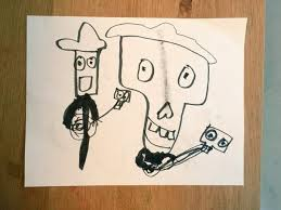 the 3 year old loves drawing skeletons but refuses to watch coco he still refuses to watch it but he s now discovered the coco coloring book