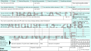 Types Of Coverage Exemptions Chart The New 2018 Form 1040
