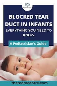 blocked tear duct in infants