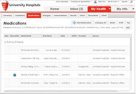 Uh My Chart Whats In My Phr Myuhcare University Hospitals