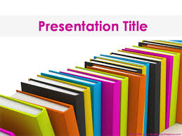 Books Powerpoint Template The Highest Quality Powerpoint