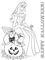 Small Picture Disney Halloween Coloring Book Pages Coloring Pages