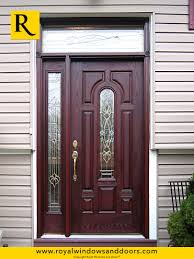 single entry doors with glass. Single Entry Door , Wood Finish, One Side Lite, Transom, Designer Glass Doors With B