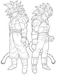 Dragon Ball Z Coloring Pages Vegeta L