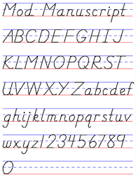 Examples Of Handwriting Styles Draw Your World Draw