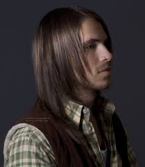 Long Mens Hair Style long mens haircut with razor cut finishing 1021 by wearticles.com