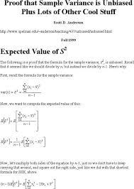 Sample Variance. Population Variance Formula Excel Population ...