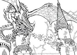 Pin By On Free Coloring Pages Dragon Coloring Page Coloring Pages