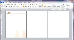 letterhead in word format
