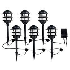 low voltage landscape lighting kits