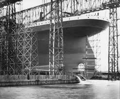 Image result for The Building of the RMS Titanic