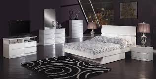 white modern bedroom sets. Glossy Bedroom Furniture White Modern Sets U