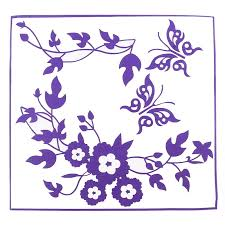 erfly flower bathroom toilet laptop wall decals sticker home decoration p9h4