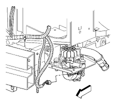 secondary air injection system on a 2002 buick rendezvous graphic