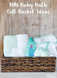johnsonspartners diy baby bath gift basket ideas easily create your own baby shower gift baskets