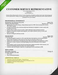 Skills Section Of Resume Examples Customer Service Skills Section
