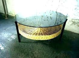 baskets for under coffee table coffee table with wicker baskets