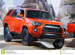 Toyota Four Runner TRD PRO 2015 Detroit Auto Show Editorial Stock ...