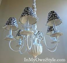 chandelier lamp shades interesting do it yourself chandelier and lampshade ideas for your home clip on
