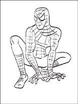 Uomo Ragno Spider Man Disegno Da Colorare E Stampare Disegni Da