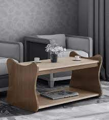 coffee table with light brown