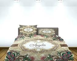 monogrammed comforter 1