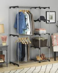 sophisticated clothes armoire with hanging rod for your house idea wardrobe closet armoire wardrobe