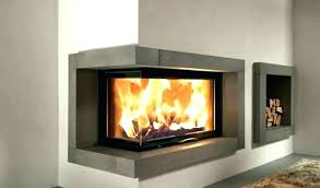fireplace insert wood burning with blower corner inserts modern dimensions ins