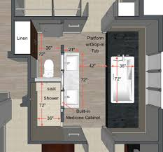 Bathroom Plan Your Guide To Planning The Master Bathroom Of Your Dreams
