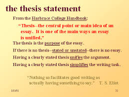 Writing Effective Thesis Statements For Essays On Love Thesis