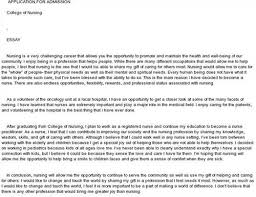 essay nursing admission essay nursing
