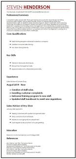 Reference In Resume Sample Cv Example With References Myperfectcv