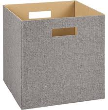Storage Boxes Decorative Fabric ClosetMaid 60 Decorative Fabric Storage Bin Gray storage 16