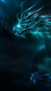 Neon Blue Dragon (Page 1) - Line.17QQ.com