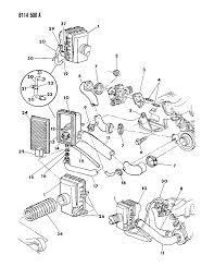 1988 chrysler lebaron base air cleaner diagram 00000zhh