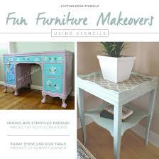 Fun Furniture Makeovers Using Stencils Hometalk