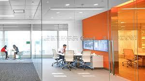 Efficient Office Design Amazing Confidential Financial Media Company NBBJ