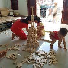 Combo 3Kg] Gỗ Xếp hình Loại to cho trẻ chơi Rút Gỗ - Domino - Xếp Hình Giúp  bé phát triển tư duy toàn diện