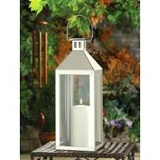large outdoor candle lanterns holder metal candles stainless steel