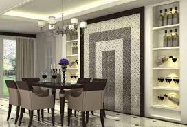 image for modern dining room wall decor ideas