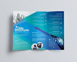 10 Tri Fold Brochure Template For Word Resume Samples