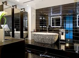 Small Picture 17 Modern luxury bathroom designs Black gray color schemes