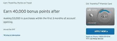 citi premier 40 000 thankyou points signup offer is back doctor screen shot 2016 11 18 at 12 35