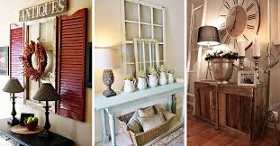 Entryway furniture ideas Front Entryway 27 Welcoming Rustic Entryway Decorating Ideas That Every Guest Will Love Homebnc 27 Best Rustic Entryway Decorating Ideas And Designs For 2019