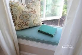 Living Room Glittering Make Bay Window Curtain Rods Make Window Seat  Cushion Bay Window How To ...